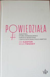 Powiedziała... - okładka/ fot. Roman Soroczyński