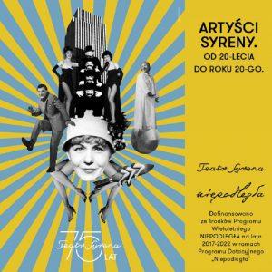 Artyści Syreny - plakat