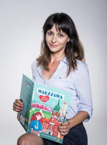 Anna Paczuska z najnowszą książką - fot. Monika Szałek