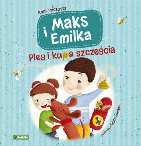 Pies i kupa szczęścia - okładka książki/ fot. Wydawnictwo RM