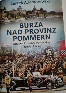 Burza nad Provinz Pommern - okładka/fot. Roman Soroczyński