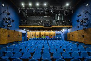 Teatr Baj - sala widowiskowa/ fot. Ewelina Lach_UM Warszawa