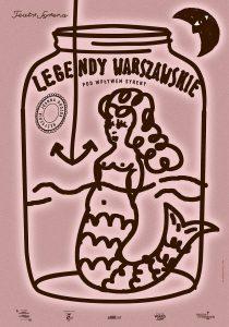 Legendy Warszawskie - grafika/ Materiał Organizatora