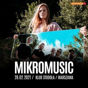 Mikromusic - plakat/fot. Materiał Organizatora