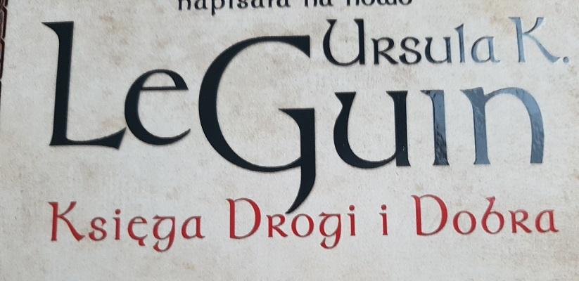 Księga drogi i dobra fragment okładki