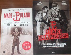 Okładki książek Michała Wójcika - fot. Roman Soroczyński