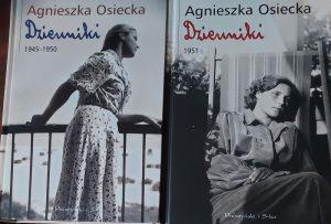 Agnieszka Osiecka - dwa pierwsze tomy dzienników/ fot. Roman Soroczyński