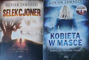 Dwie książki Doriana Zawadzkiego - fot. Roman Soroczyński