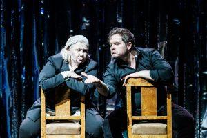 Sganarel i Don Juan - Dorota Nowakowska i Tomasz Schuchardt/ fot. Bartek Warzecha