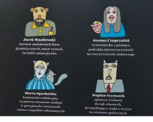 Współtwórcy Bezecnika... na końcowej okładce - fot. Roman Soroczyński