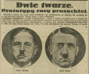 Porównanie twarzy przez Ilustrowany Kuryer Codzienny - fot. materiał Wydawnictwa Lira