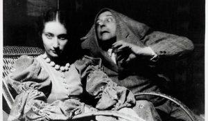 Zdjęcie Witkacego w roli Potwora z Düsseldorfu - fot. materiał Wydawnictwa Lira