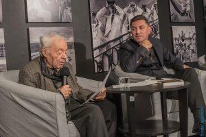 Józef Hen i Remigiusz Grzela - fot. Renata Zawadzka-Ben Dor