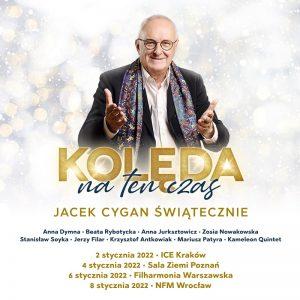 Jacek Cygan świątecznie - plakat