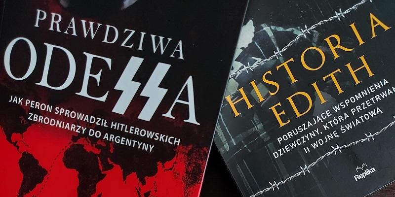 Odessa i Historia Edith okładki do publikacji