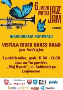 Inauguracja Jazz Jam 2021 - plakat