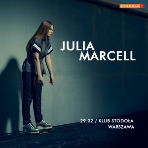 Julia Marcell - plakat/ materiał prasowy